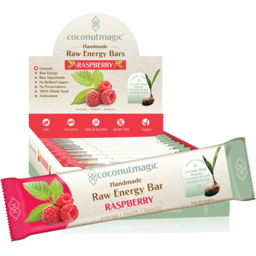 Photo of C/Nut Magic Rasp Energy Bar 45g