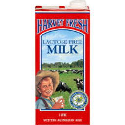 Photo of Harvey Fresh Uht Lactose Free Full Cream 1l