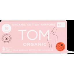 Photo of Tom Organic Tampons - Mini 2 x 8 Pack