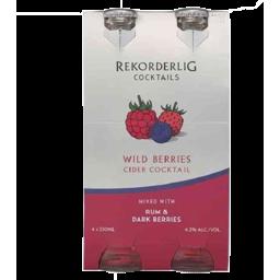Photo of Rekorderlig Rum & Wild Berry