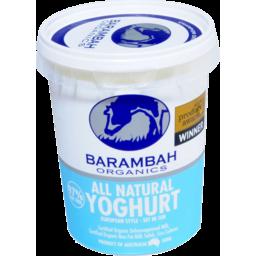 Photo of Barambah Organics All Natural Yoghurt