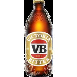Photo of Victoria Bitter Gold 375ml Bottle