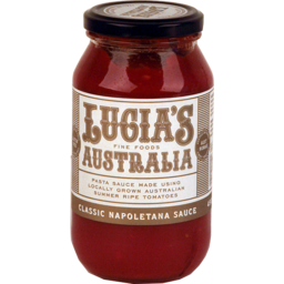 Photo of Lucia's Quick Sauce 500g