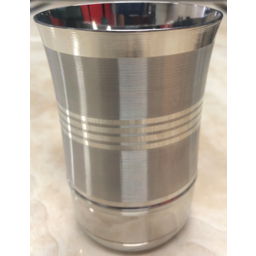 Photo of Stainless Steel Flower Tumbler (Glass) 11cm