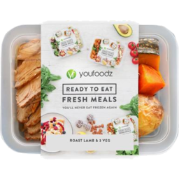 Photo of Youfoodz Roast Lamb & 3 Veg 350g