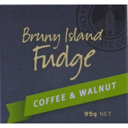Photo of Bruny Island Coffee Walnut Fudge 95gm
