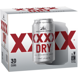 Photo of XXXX Dry Cans