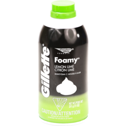 Photo of Gillette Foamy Lemon Lime