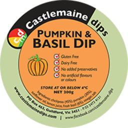Photo of Cas Kitpumpkin/Basil Dip 200g