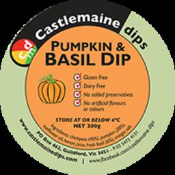 Photo of Castlemaine Dip Pumpkn & Basil 200gm