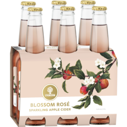 Photo of Strongbow Blossom Rosé Sparkling Apple Cider Stubbies