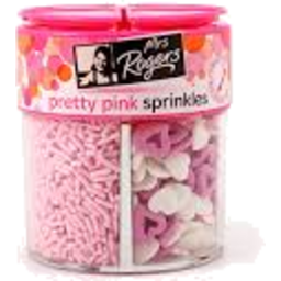 Photo of Mrs Rogers Sprinkles Pretty Pink 74g