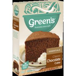 Photo of Green's Essentials Chocolate Cake 340g