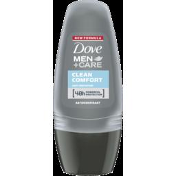 Photo of Dove Men Care Clean Comfort 48hr Anti-Perspirant Deodorant Roll On 50ml 50ml