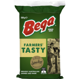 Photo of Bega Farmer's Tasty Cheese 500g