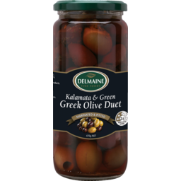 Photo of Delmaine Greek Olive Duet Greek Olive Duet 470g