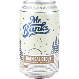 Photo of Mr Banks Oatmeal Stout 4 Pack