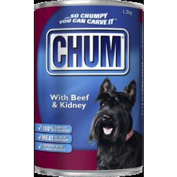 Photo of Chum Dog Food Beef & Kidney 1.2 Kg