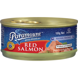 Photo of Paramount Wild Alaskan Red Salmon 100g