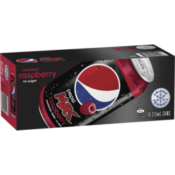 Photo of Pepsi Max Raspberry 10x375ml