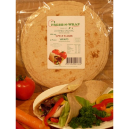Photo of Fresh-N-Wrap - Bread - Wraps Spelt - 280g