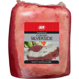 Photo of IGA Silverside Corned Rw