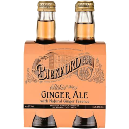 Photo of Bickfords Ginger Ale 4*275ml