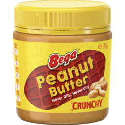Photo of Bega Peanut Butter Crunchy 375g