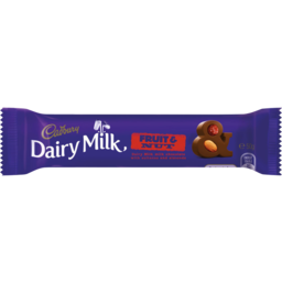 Photo of Cadbury Dairy Milk Fruit & Nut Bar 50gm