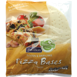 Photo of Pavillion Foods Gluten Free Pizza Bases 4 Pack