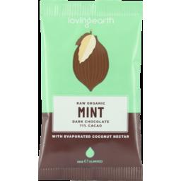 Photo of Loving Earth Dark Chocolate Organic Mint 30g