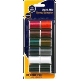 Photo of Korbond Thread 12x32m Ast Cols
