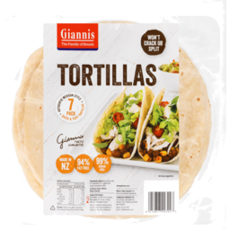 Photo of Giannis Tortillas Traditional 7 Pack