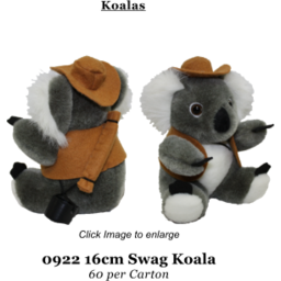 Photo of Plush Koala & Jacket/Hat