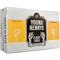 Photo of Young Henrys Cloudy Cider Cans