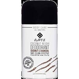 Photo of Alaffia Coconut & Charcoal Deoderant 75g
