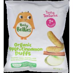 Photo of Little Bellies Organic Apple & Cinnamon Puffs 12g