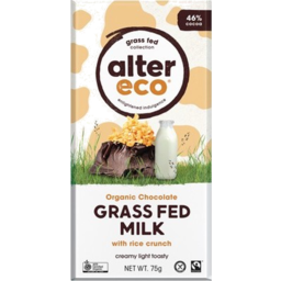 Photo of Alter Eco Grassfed Rice Crunch 80g