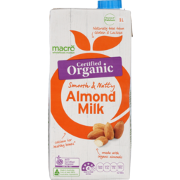 Photo of Macro Organic Milk Almond 1L
