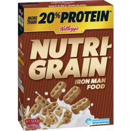 Photo of Kelloggs Nutri Grain 500gm