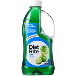 Photo of Diet Rite Lime Cordial 1lt