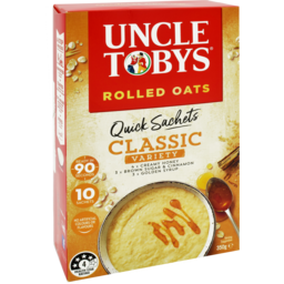 Photo of Uncle Toby's Oat Quick Classic Variety 10pk