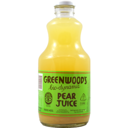 Photo of Greenwood's Bio-Dynamic Pear Juice