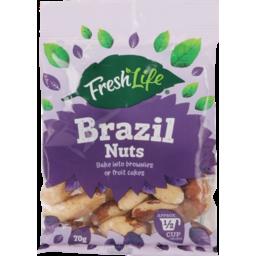 Photo of Fresh Life Brazil Nuts 70g