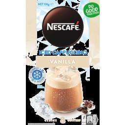 Photo of Nescafe Vanilla Iced Cappuccino Coffee Sachet 8 Pack 136g