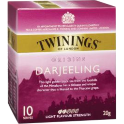 Photo of Twinings Darjeeling 10 Pack Teabags