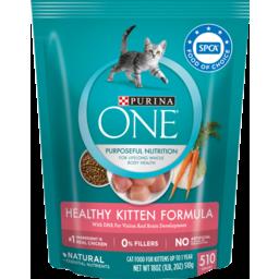 Photo of Purina One Healthy Kitten Formula Pet Food 510g