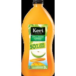 Photo of Keri Juice Juice Orange & Mango 50% Less Sugar 3L