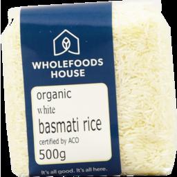 Photo of Wholefoods House Rice Basmati 500g