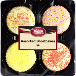 Photo of Bakers Collection Assorted Shortcakes 4pk